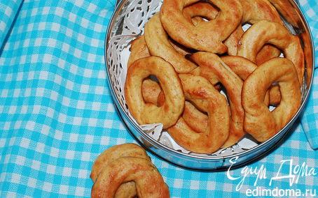 Рецепт Манговые колечки с арахисовым маслом