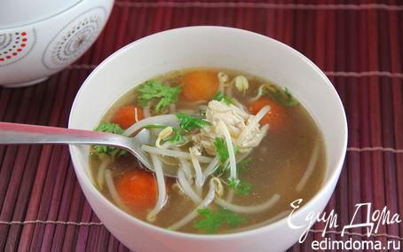 Рецепт Ароматный куриный суп по-камбоджийски