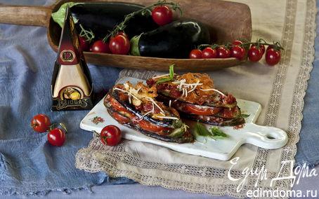 Рецепт Баклажаны с сыром Джюгас, запеченные в томатном соусе