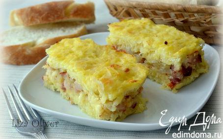 Рецепт Картофельный террин с грудинкой