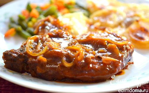 Рецепт Свиные котлеты с кленовым сиропом