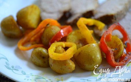 Рецепт Картофель со сладким перцем