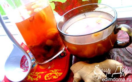 Рецепт Компот оранжевый витаминный