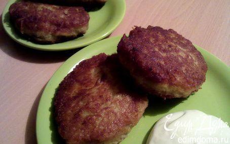 Рецепт Драники картофельные (на завтрак для Ани)