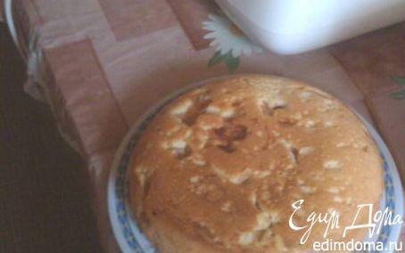 Рецепт Шарлотка яблочно-вишневая в мультиварке