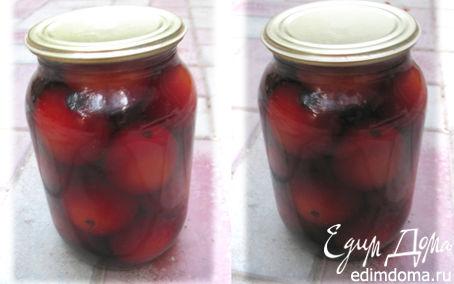 Рецепт Консервированные помидоры в красном вине