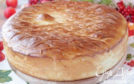 Рецепт Кулебяка с капустой и фаршем