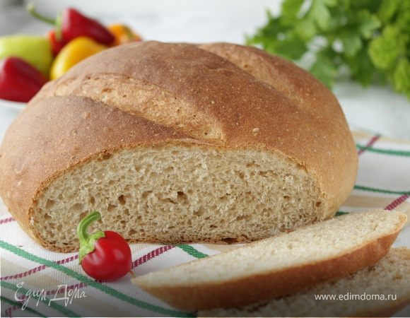 Хлеб на сыворотке с пшеничными отрубями