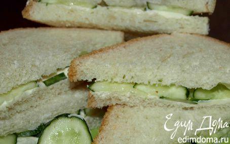 Рецепт Сэндвич с огурцом по‑английски