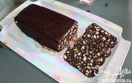 Рецепт Десерт «Домашнее полено»