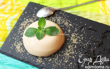 Рецепт Панна котта с чаем Эрл Грей на топленом молоке