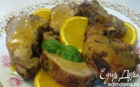 Рецепт Свинина с апельсинами по-гречески