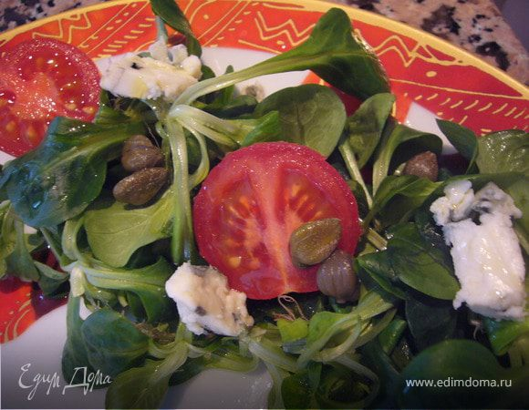 Типичный французский салат