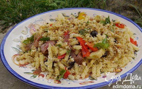 Рецепт Паста с салями и артишоками