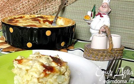 Рецепт Гратен из цветной капусты с хлопьями