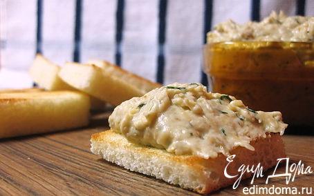 Рецепт Баклажановый дип с сыром