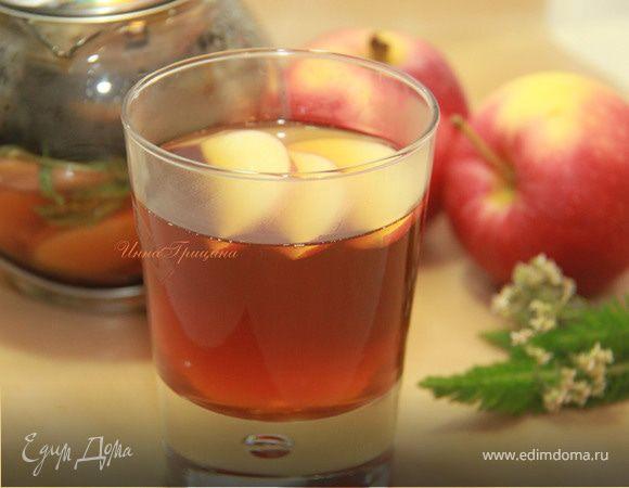 Пряный яблочный чай
