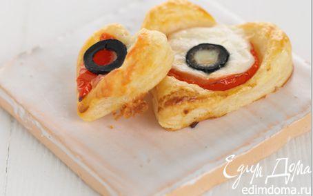 Рецепт Томатно-сырные сердечки Maille