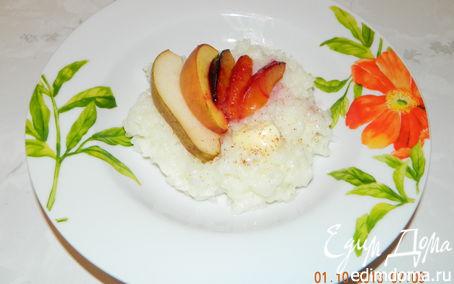 Рецепт Рисовая каша с запеченными фруктами