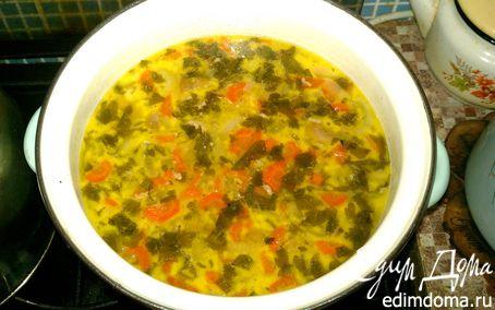 Рецепт Суп с колбасным сыром и шампиньонами в мультиварке