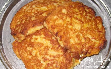 Рецепт Оладьи из тыквы и яблок