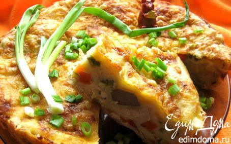Рецепт Лазанья с курицей и печенкой
