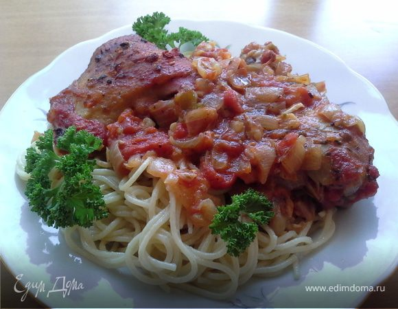 Курица-по итальянски
