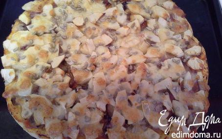 Рецепт Пицца с яблоками по-итальянски