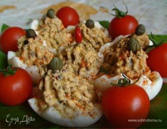 Дьявольские яйца (Uova alla diavola)