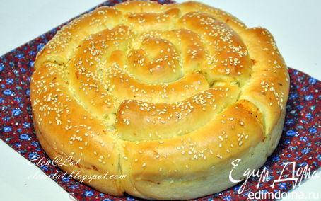 Рецепт Хлеб с пармезаном и итальянскими травами
