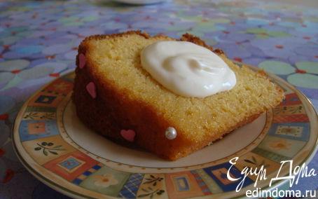 Рецепт Тыквенный кекс с апельсиновым сиропом