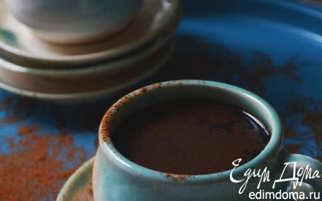 Рецепт Горячий шоколад с ванилью и корицей