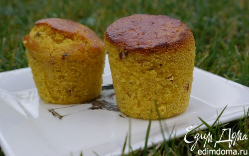 Рецепт Кукурузные маффины с беконом и тимьяном