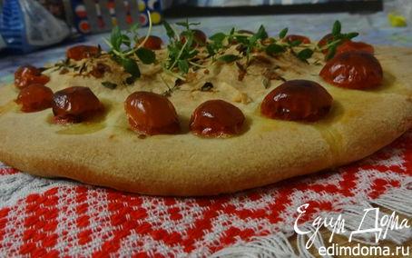 Рецепт Фокачча с пармезаном и пряными травами в хлебопечке