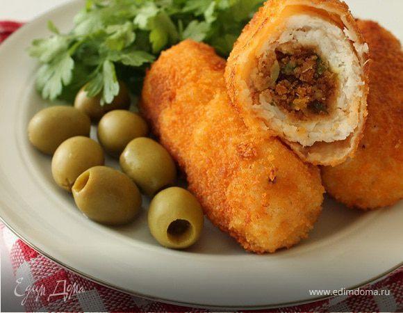 Рыбные рулетики по-сицилийски (Involtini)