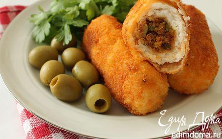 Рецепт Рыбные рулетики по-сицилийски (Involtini)