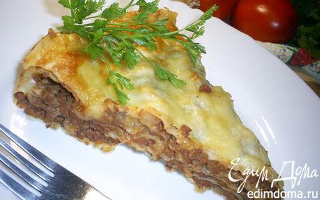 Рецепт Вкусная и быстрая лазанья на лаваше