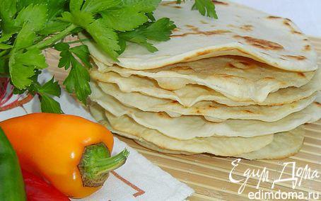 Рецепт Итальянские лепешки (Piadina)