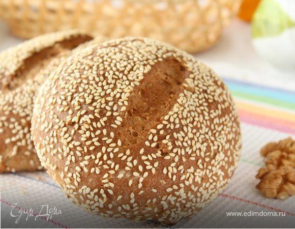 Цельнозерновые хлебцы с грецкими орехами