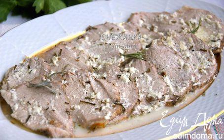 Рецепт Свинина, запеченная в молоке (Arrosto al latte)