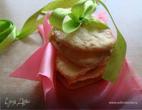 Сахарное печенье с миндалем