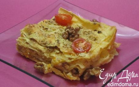 Рецепт Лазанья с тыквой