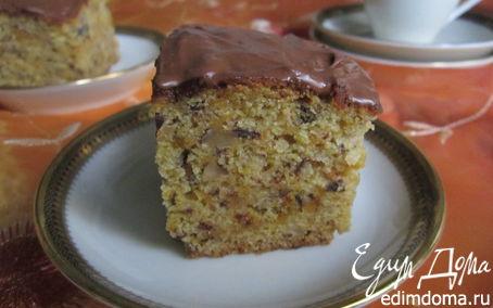 Рецепт Тыквенно-ореховый пирог