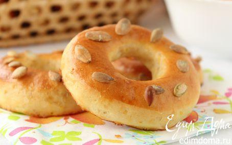 Рецепт Бублики с тыквой