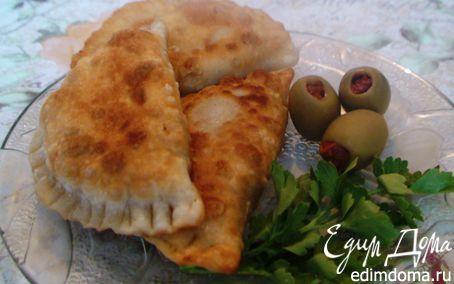 Рецепт Постные жареные пирожки с тыквой и каперсами