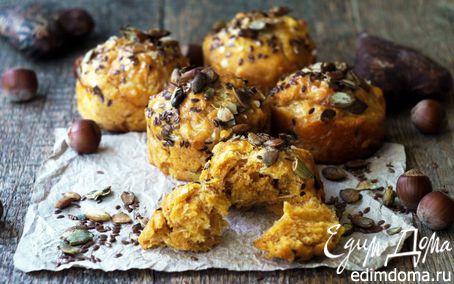 Рецепт Тыквенные кексы с сыром