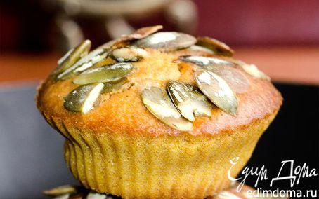 Рецепт Тыквенные кексы с имбирными цукатами
