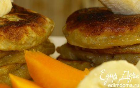 Рецепт Оладьи из тыквы и банана