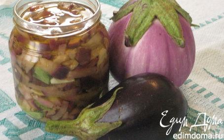 Рецепт Баклажаны в масле по-итальянски с базиликом и мятой
