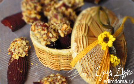 Рецепт Венское шоколадное печенье с фундуком